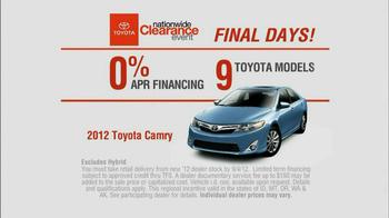 Toyota TV Spot for Camry, Corolla, Avalon - Thumbnail 7