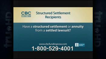 CBC Settlement Funding TV Spot, 'Structured Settlement' - Thumbnail 1
