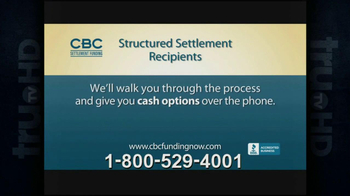 CBC Settlement Funding TV Spot, 'Structured Settlement' - Thumbnail 3