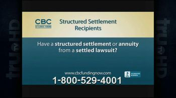 CBC Settlement Funding TV Spot, 'Structured Settlement'