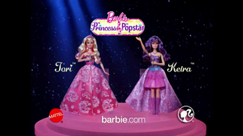 Barbie: The Princess and the Popstar Home Entertainment TV Spot - Thumbnail 8