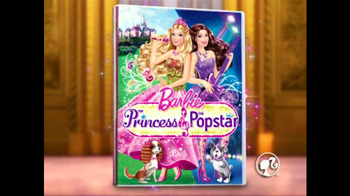 Barbie: The Princess and the Popstar Home Entertainment TV Spot - Thumbnail 1