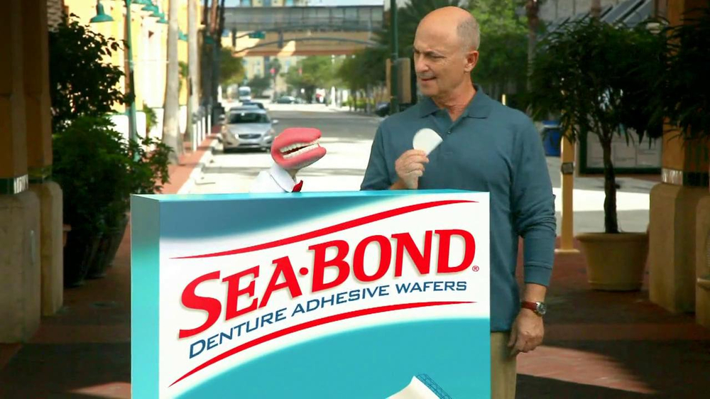 Sea Bond TV Commercial for Adhesive Wafers