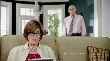 Mitsubishi Electric TV Spot for Cost vs. Comfort Featuring James Carville