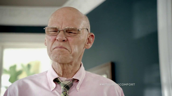 Mitsubishi Electric TV Spot for Cost vs. Comfort Featuring James Carville - Thumbnail 5