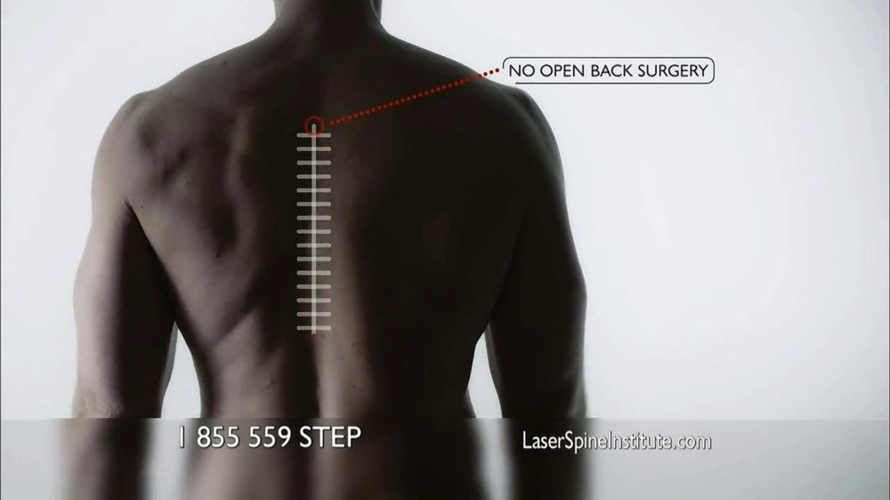 Laser Spine Institute TV Commercial for Out-Patient Surgeries