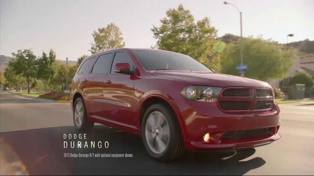 2012 Dodge Durango SXT TV Spot