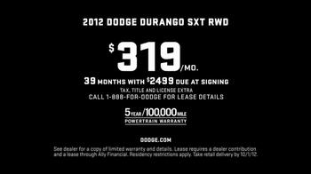 2012 Dodge Durango SXT TV Spot - Thumbnail 10