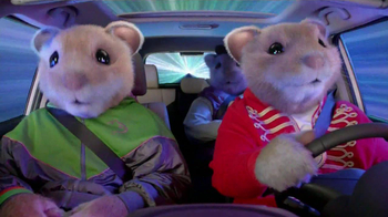 2013 Kia Soul Hamsters TV Spot, \'Bright Lights\'