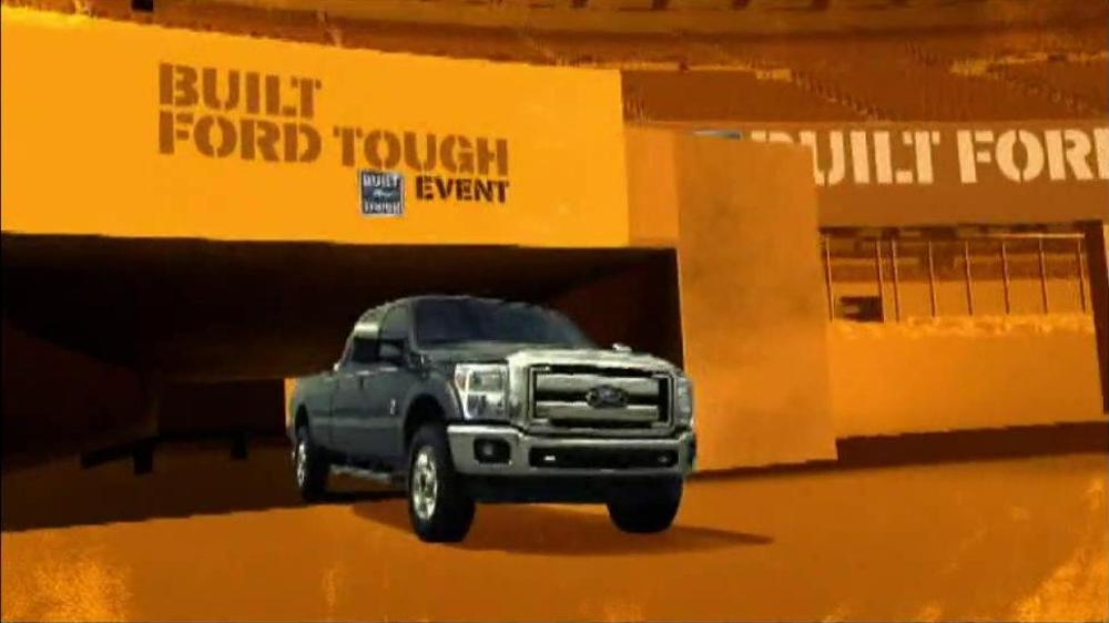 Built Ford Tough Sales Event TV Commercial, 'Touchdown ...