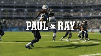 Madden NFL 13 TV Spot, 'Paul and Ray Talking Madden' - Thumbnail 1