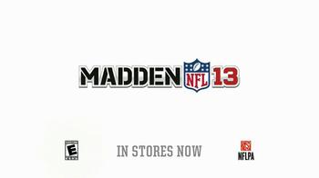 Madden NFL 13 TV Spot, 'Paul and Ray Talking Madden' - Thumbnail 10