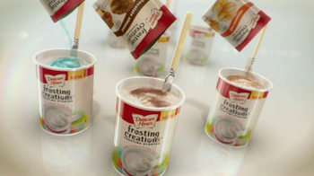 Duncan Hines Frosting Creations Packets, TV Spot 'Fireworks'