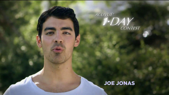 ACUVUE 1-Day Contest TV Spot Featuring Joe Jonas - Thumbnail 2