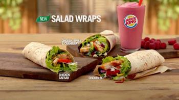 Burger King Salad Wraps TV Spot, 'Hush' - Thumbnail 8