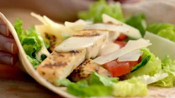Burger King Salad Wraps TV Spot, 'Hush' - Thumbnail 4