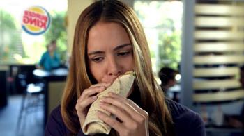 Burger King Salad Wraps TV Spot, 'Hush' - Thumbnail 7
