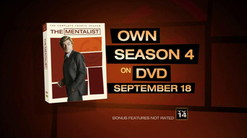 The Mentalist Season 4 on DVD TV Spot - Thumbnail 6