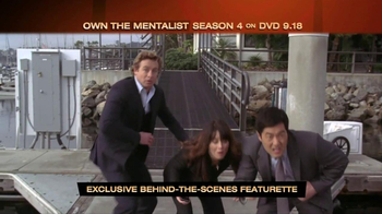 The Mentalist Season 4 on DVD TV Spot - Thumbnail 4