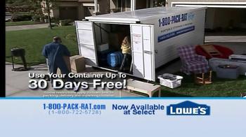 1-800-PACK-RAT TV Spot, 'Pack Rat Storage Systems' - Thumbnail 7
