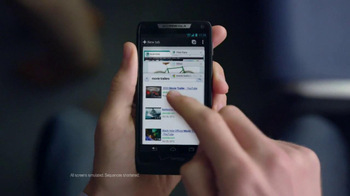 Droid Razr M on Verizon TV Spot, 'Projections' - Thumbnail 9