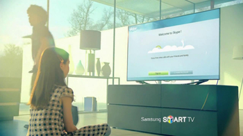 TV Spot for Samsung Smart TV, 'Step Into the Future' - Thumbnail 5