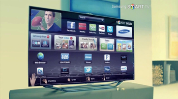 TV Spot for Samsung Smart TV, 'Step Into the Future' - Thumbnail 7