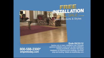 Empire Today TV Spot for Free-Installation Sale - Thumbnail 2