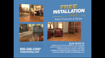 Empire Today TV Spot for Free-Installation Sale - Thumbnail 4