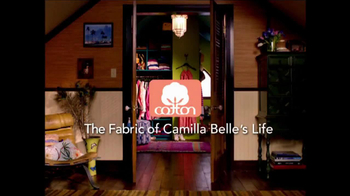 Cotton TV Spot, 'The Fabric of Camilla Belle's Life' - Thumbnail 1