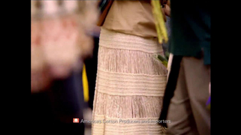 Cotton TV Spot, 'The Fabric of Camilla Belle's Life' - Thumbnail 6