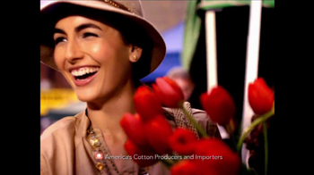 Cotton TV Spot, \'The Fabric of Camilla Belle\'s Life\'