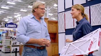 MyLowes TV Spot, 'Air Filters' Featuring Grace Anne Helbig - 295 commercial airings