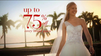 David's Bridal Savings Spectacular TV Spot - Thumbnail 3