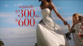 David's Bridal Savings Spectacular TV Spot - Thumbnail 5