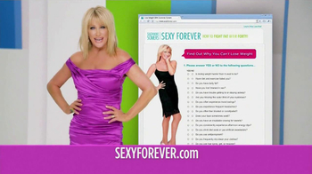 SexyForver.com TV Spot Featuring Suzanne Somers - Thumbnail 5