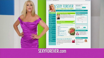 SexyForver.com TV Spot Featuring Suzanne Somers - Thumbnail 6