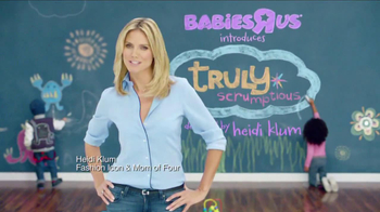 Heidi Klum Truly Scrumptious Collection at Babies R Us TV Spot - Thumbnail 1