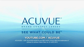 ACUVUE 1-Day Contest Winner TV Spot Featuring Meaghan Martin - Thumbnail 7