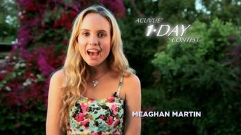 ACUVUE 1-Day Contest Winner TV Spot Featuring Meaghan Martin