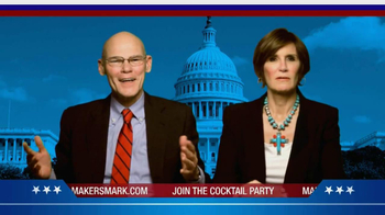 Maker's Mark TV Spot Featuring James Carville and Mary Matalin