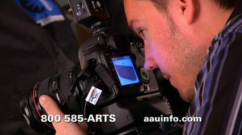 Academy of Art University TV Spot for Photography
