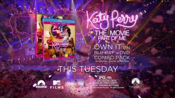 Katy Perry: Part of Me Home Entertainment TV Spot - Thumbnail 8