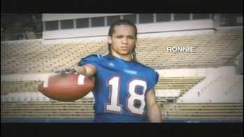 Partnership for Drug-Free Kids TV Spot, 'Football Player' - 164 commercial airings