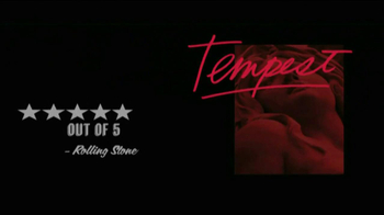 Bob Dylan Tempest TV Spot - Thumbnail 7