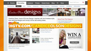 HGTV TV Spot, 'Candice Olson Designs' - 8 commercial airings