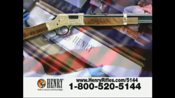 Henry Repeating Arms TV Spot, 'American Made' - Thumbnail 1