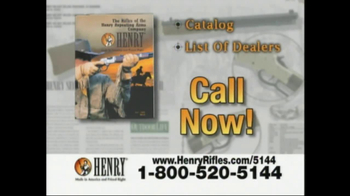 Henry Repeating Arms TV Spot, 'American Made' - Thumbnail 9