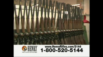 Henry Repeating Arms TV Spot, 'American Made'