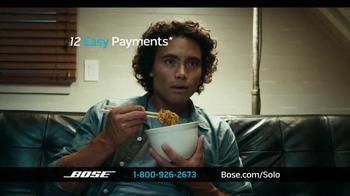 Bose Solo TV Sound System TV Spot - Thumbnail 10